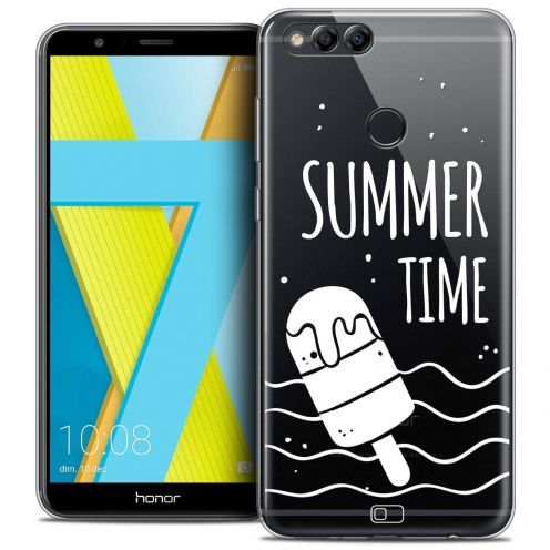 "Coque Crystal Gel Honor 7X (5.9"") Extra Fine Summer - Summer Time"