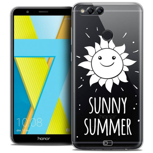 "Coque Crystal Gel Honor 7X (5.9"") Extra Fine Summer - Sunny Summer"