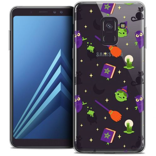 """Coque Crystal Gel Samsung Galaxy A8+ (2018) A730 (6.0"""") Extra Fine Halloween - Witch Potter"""