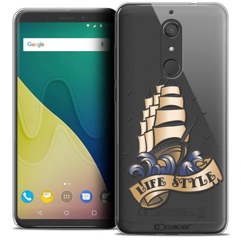"""Coque Crystal Gel Wiko View XL (5.99"""") Extra Fine Tatoo Lover - Life Style"""