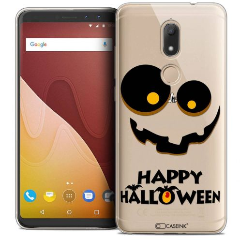 "Coque Crystal Gel Wiko View PRIME (5.7"") Extra Fine Halloween - Happy"