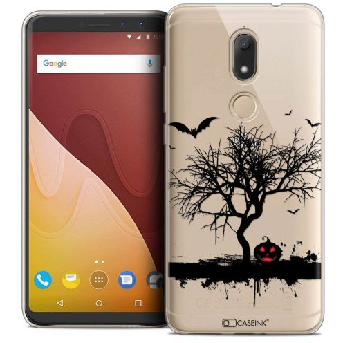 "Coque Crystal Gel Wiko View PRIME (5.7"") Extra Fine Halloween - Devil's Tree"