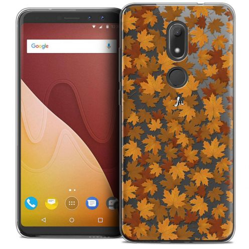 "Coque Crystal Gel Wiko View PRIME (5.7"") Extra Fine Autumn 16 - Feuilles"
