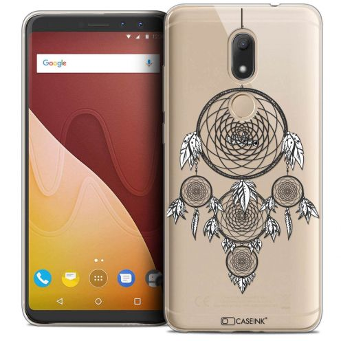 """Coque Crystal Gel Wiko View PRIME (5.7"""") Extra Fine Dreamy - Attrape Rêves NB"""