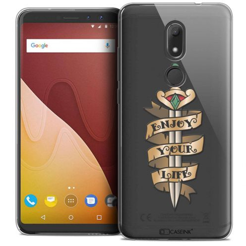 "Coque Crystal Gel Wiko View PRIME (5.7"") Extra Fine Tatoo Lover - Enjoy Life"