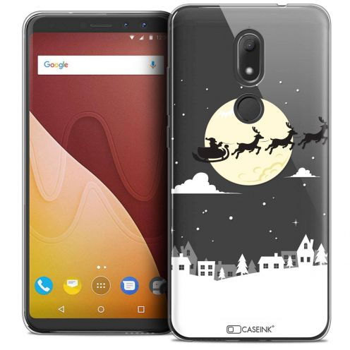 "Coque Crystal Gel Wiko View PRIME (5.7"") Extra Fine Noël 2017 - Flying Stanta"