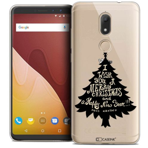 "Coque Crystal Gel Wiko View PRIME (5.7"") Extra Fine Noël 2017 - XOXO Tree"