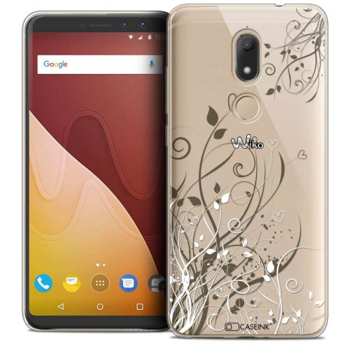 """Coque Crystal Gel Wiko View PRIME (5.7"""") Extra Fine Love - Hearts Flowers"""