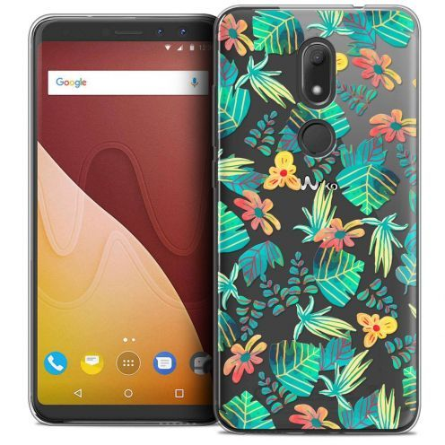 """Coque Crystal Gel Wiko View PRIME (5.7"""") Extra Fine Spring - Tropical"""