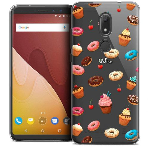 """Coque Crystal Gel Wiko View PRIME (5.7"""") Extra Fine Foodie - Donuts"""