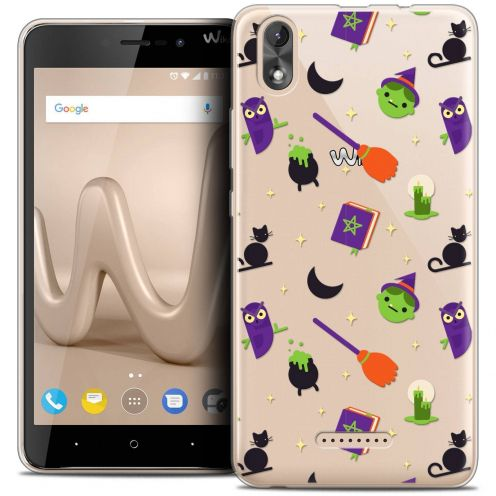 "Coque Crystal Gel Wiko Lenny 4 PLUS (5.5"") Extra Fine Halloween - Witch Potter"