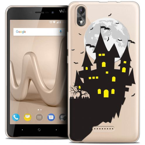 "Coque Crystal Gel Wiko Lenny 4 PLUS (5.5"") Extra Fine Halloween - Castle Dream"