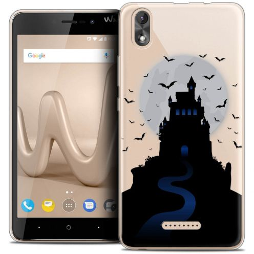 "Coque Crystal Gel Wiko Lenny 4 PLUS (5.5"") Extra Fine Halloween - Castle Nightmare"