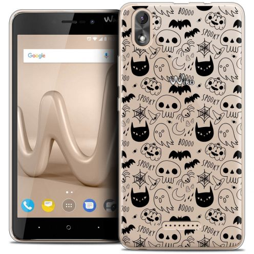"Coque Crystal Gel Wiko Lenny 4 PLUS (5.5"") Extra Fine Halloween - Spooky"