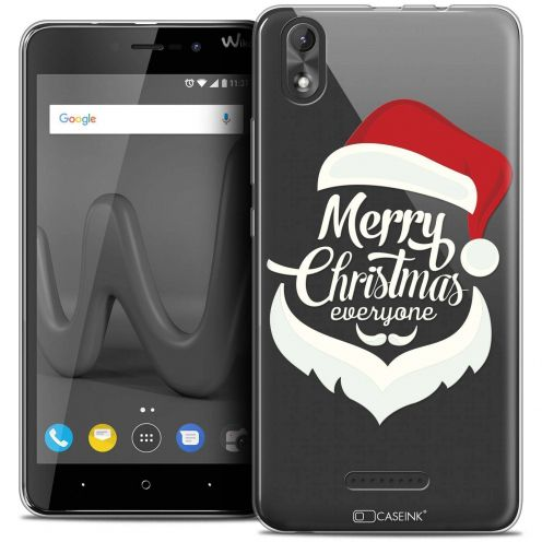 "Coque Crystal Gel Wiko Lenny 4 PLUS (5.5"") Extra Fine Noël 2017 - Merry Everyone"