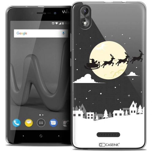 "Coque Crystal Gel Wiko Lenny 4 PLUS (5.5"") Extra Fine Noël 2017 - Flying Stanta"