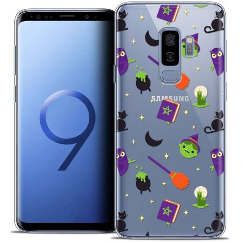 """Coque Crystal Gel Samsung Galaxy S9+ (6.2"""") Extra Fine Halloween - Witch Potter"""