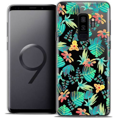 "Coque Crystal Gel Samsung Galaxy S9+ (6.2"") Extra Fine Spring - Tropical"