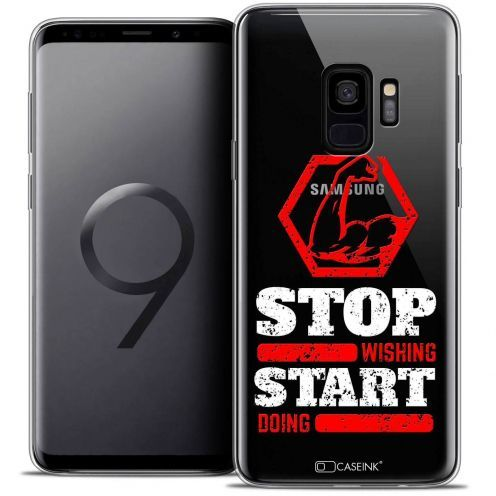 """Coque Crystal Gel Samsung Galaxy S9 (5.8"""") Extra Fine Quote - Start Doing"""