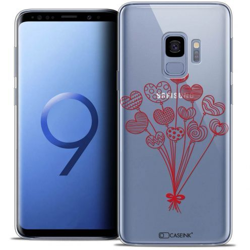 """Coque Crystal Gel Samsung Galaxy S9 (5.8"""") Extra Fine Love - Ballons d'amour"""