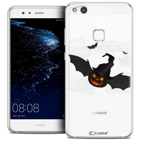 "Coque Crystal Gel Huawei P10 LITE (5.2"") Extra Fine Halloween - Chauve Citrouille"