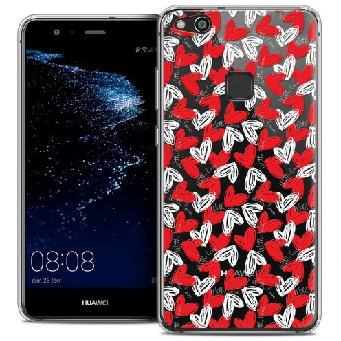 """Coque Crystal Gel Huawei P10 LITE (5.2"""") Extra Fine Love - With Love"""