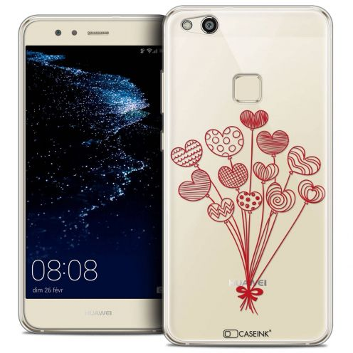 """Coque Crystal Gel Huawei P10 LITE (5.2"""") Extra Fine Love - Ballons d'amour"""