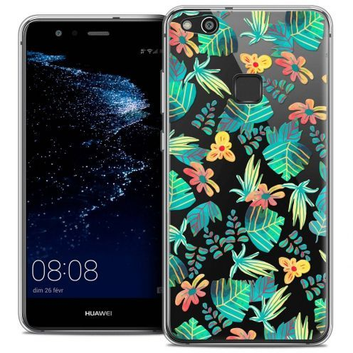 "Coque Crystal Gel Huawei P10 LITE (5.2"") Extra Fine Spring - Tropical"