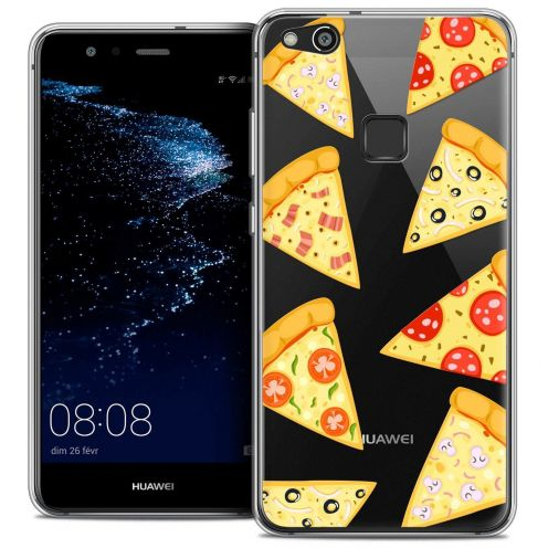 """Coque Crystal Gel Huawei P10 LITE (5.2"""") Extra Fine Foodie - Pizza"""