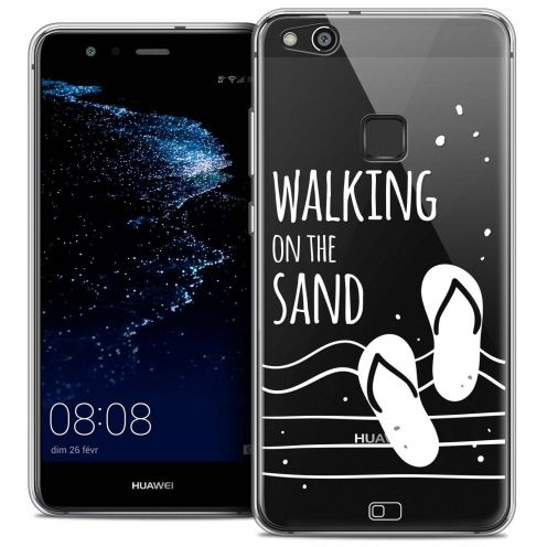 """Coque Crystal Gel Huawei P10 LITE (5.2"""") Extra Fine Summer - Walking on the Sand"""