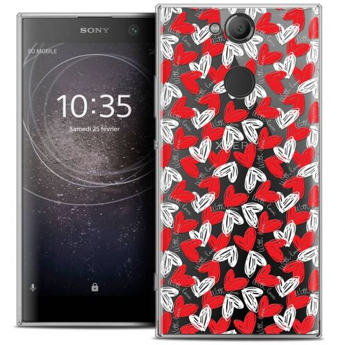 """Coque Crystal Gel Sony Xperia XA2 (5.2"""") Extra Fine Love - With Love"""