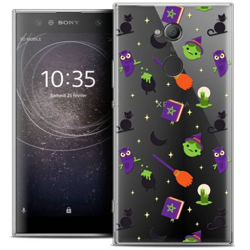 "Extra Slim Crystal Gel Sony Xperia XA2 ULTRA (6"") Case Halloween Witch Potter"