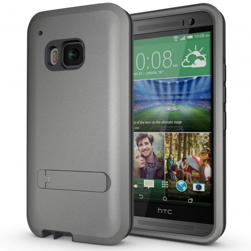 Armor Defender 3 HTC One M9 Shockproof Case - Anthracite