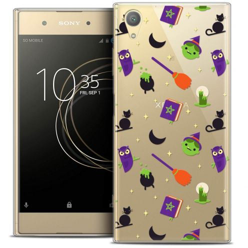 "Coque Crystal Gel Sony Xperia XA1 PLUS (5.5"") Extra Fine Halloween - Witch Potter"