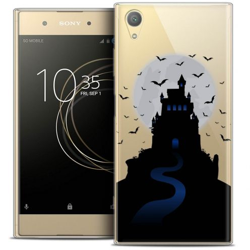 "Coque Crystal Gel Sony Xperia XA1 PLUS (5.5"") Extra Fine Halloween - Castle Nightmare"