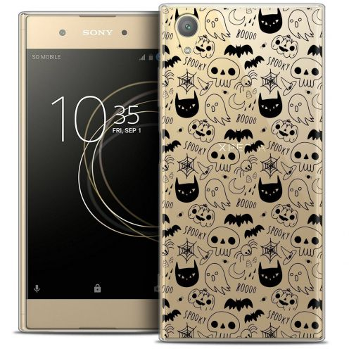 "Coque Crystal Gel Sony Xperia XA1 PLUS (5.5"") Extra Fine Halloween - Spooky"