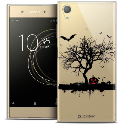 "Coque Crystal Gel Sony Xperia XA1 PLUS (5.5"") Extra Fine Halloween - Devil's Tree"