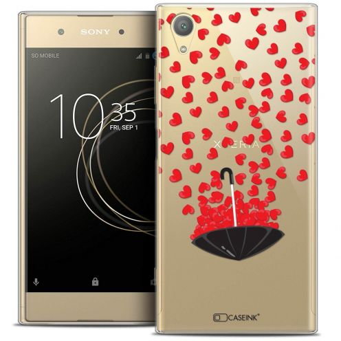 "Coque Crystal Gel Sony Xperia XA1 PLUS (5.5"") Extra Fine Love - Parapluie d'Amour"