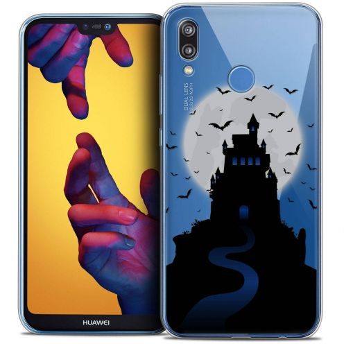 "Coque Crystal Gel Huawei P20 LITE (5.84"") Extra Fine Halloween - Castle Nightmare"