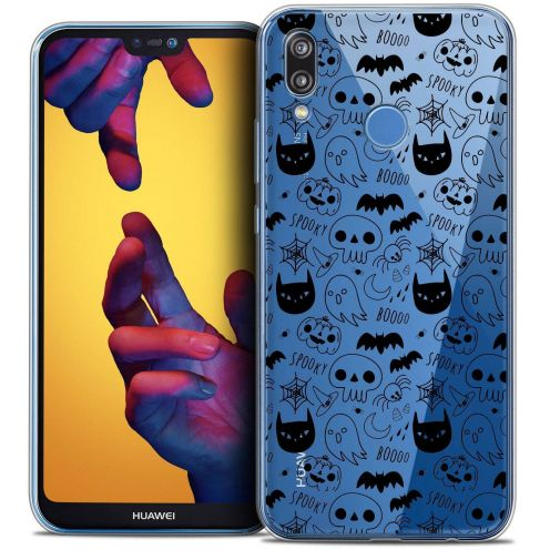 "Coque Crystal Gel Huawei P20 LITE (5.84"") Extra Fine Halloween - Spooky"