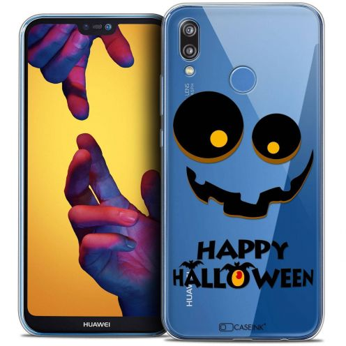 "Coque Crystal Gel Huawei P20 LITE (5.84"") Extra Fine Halloween - Happy"