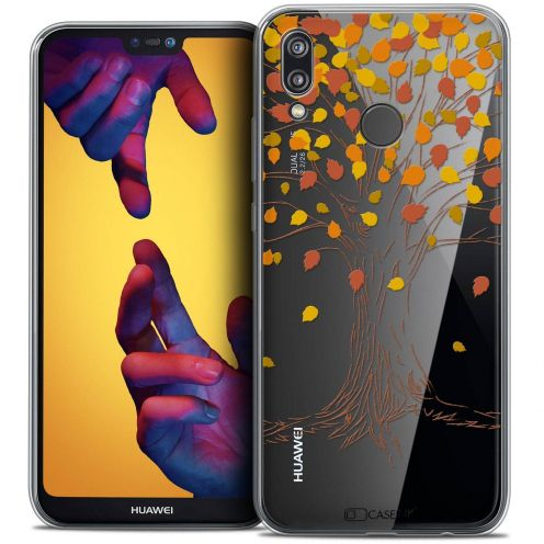 "Coque Crystal Gel Huawei P20 LITE (5.84"") Extra Fine Autumn 16 - Tree"