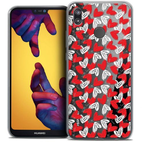 "Coque Crystal Gel Huawei P20 LITE (5.84"") Extra Fine Love - With Love"