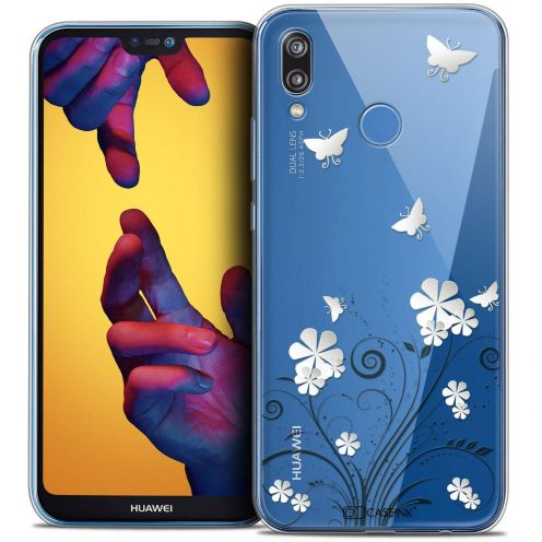 "Coque Crystal Gel Huawei P20 LITE (5.84"") Extra Fine Summer - Papillons"
