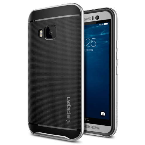 SGP Spigen® Neo Hybrid™ Series Case for HTC One M9 - Satin Silver