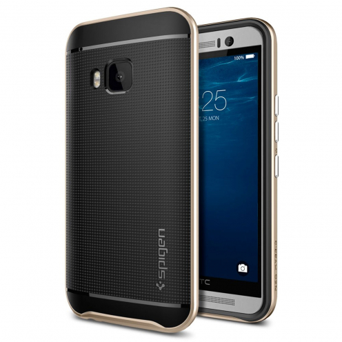 SGP Spigen® Neo Hybrid™ Series Case for HTC One M9 - Champagne Gold