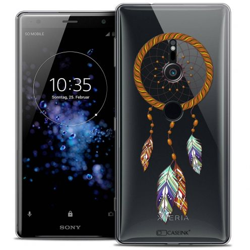 "Extra Slim Crystal Gel Sony Xperia XZ2 (5.7"") Case Dreamy Attrape Rêves Shine"