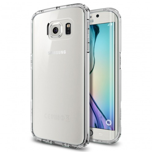 SGP Spigen® Ultra Hybrid Series Crystal Clear Case for Galaxy S6 Edge