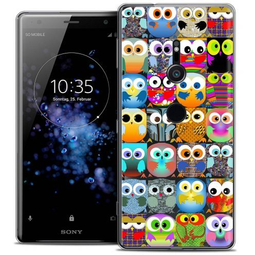 "Coque Crystal Gel Sony Xperia XZ2 (5.7"") Extra Fine Claude - Hibous"