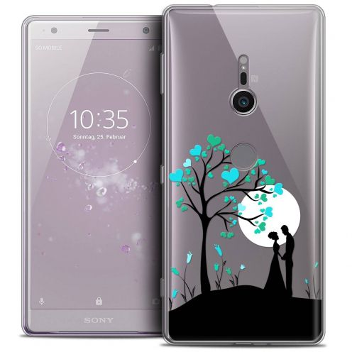 "Extra Slim Crystal Gel Sony Xperia XZ2 (5.7"") Case Love Sous l'arbre"
